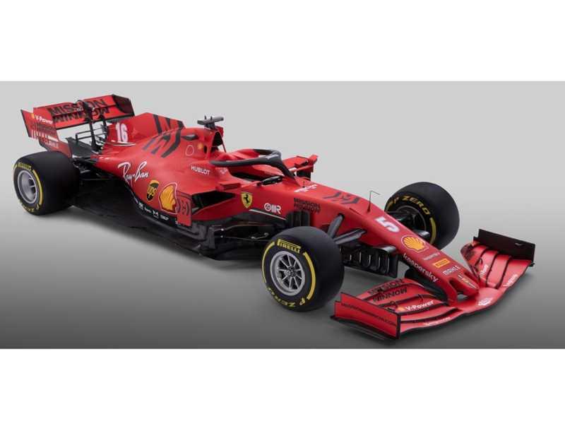 A Ferrari foi a primeira equipe a apresentar o novo, batizado de SF1000, em alusão ao milésimo GP que a escuderia disputará nesta temporada