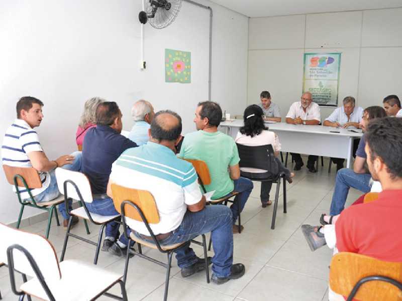 Dirigentes da cooperativa foram ouvidos na reunião do Conselho Municipal de Desenvolvimento Rural Sustentável