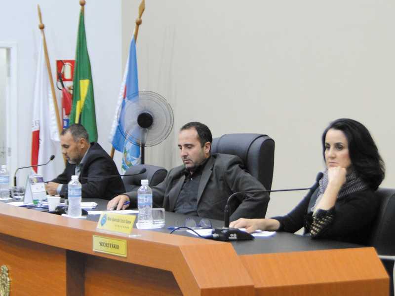 Primeiro projeto discutido pelo plenário foi o da venda de terreno no Jardim Diamantina, avaliado em R$ 1.290.063,00