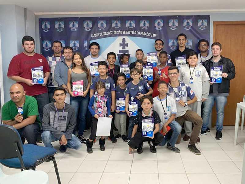 Arena Olímpica recebeu o  Campeonato Municipal de Xadrez