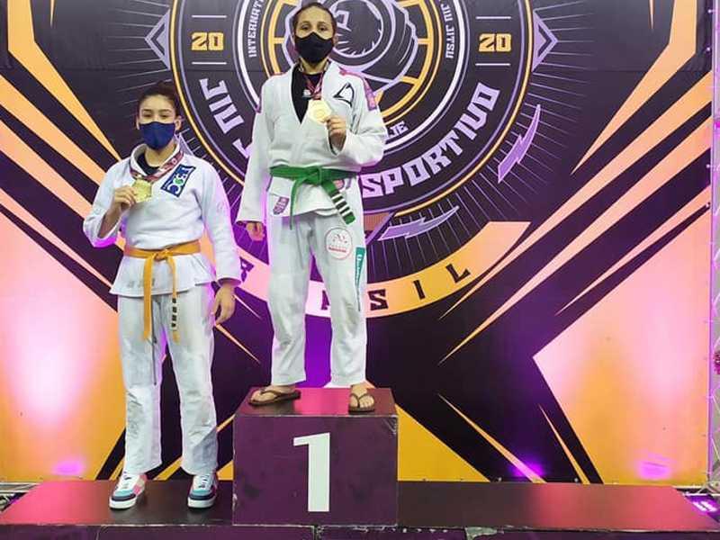Bianca sobe ao mais alto do pódium em conquista inédita no Jiu Jitsu