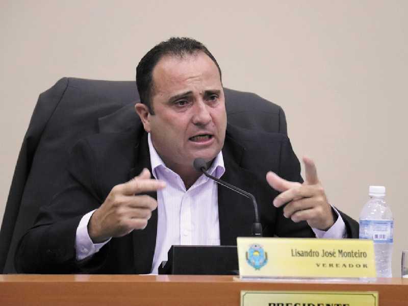 Presidente da Câmara Lisandro José Monteiro