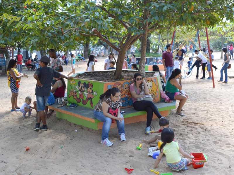 Em 2018 a Semana do Bebê de São Sebastião do Paraíso teve como tema o brincar