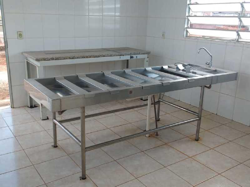 No Cemitério da Saudade em Paraíso já existe sala apropriada para se fazer necropsia, só falta médicos legista