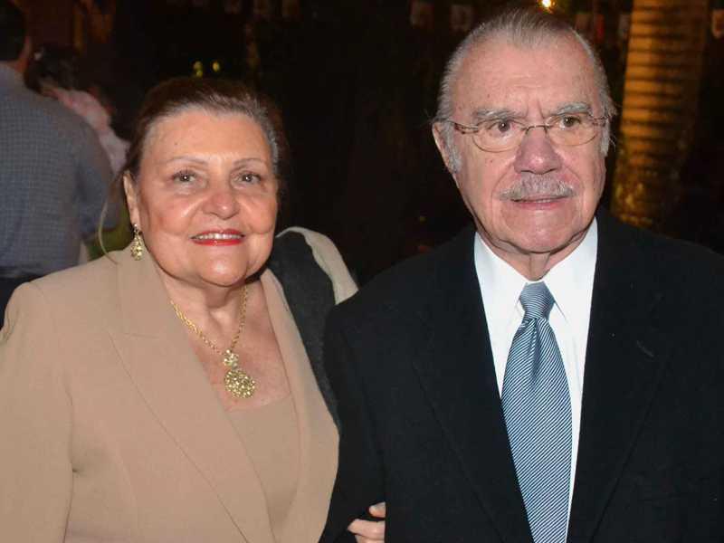 Dona Marly e José Sarney