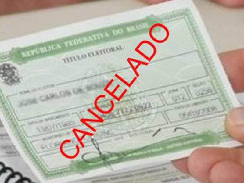 Em toda Minas Gerais a Justiça Eleitoral confirmou que foram cancelados documentos de 226 mil eleitores