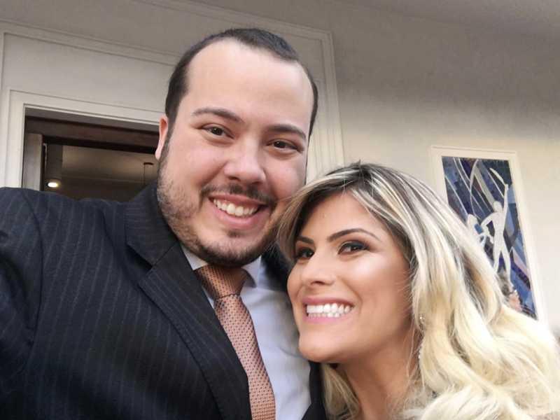A bela Erika Cauduro Rossi e Erwin Steter