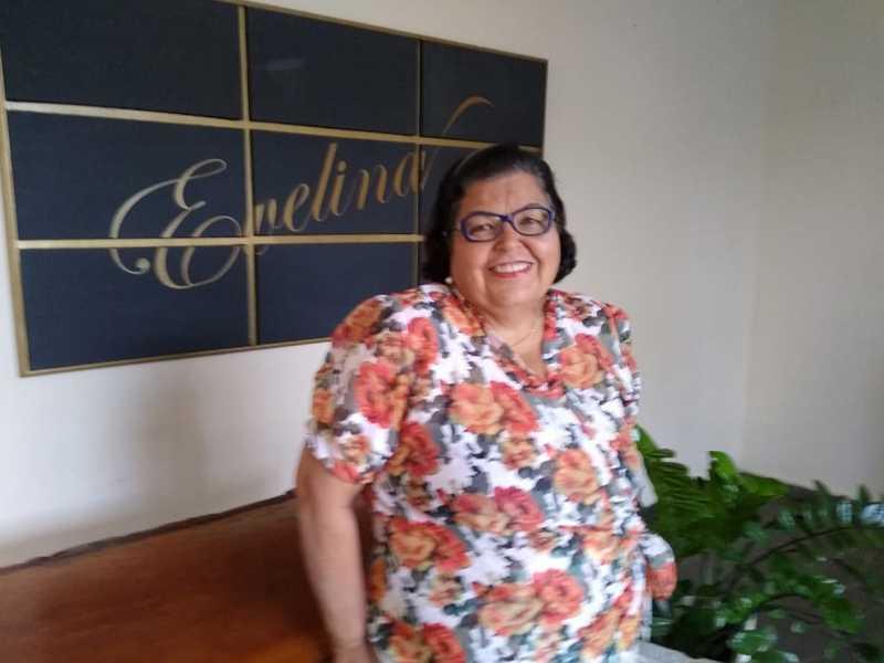 Fundadora do Evelina Buffet, Evelina foi pioneira em buffets em Paraíso
