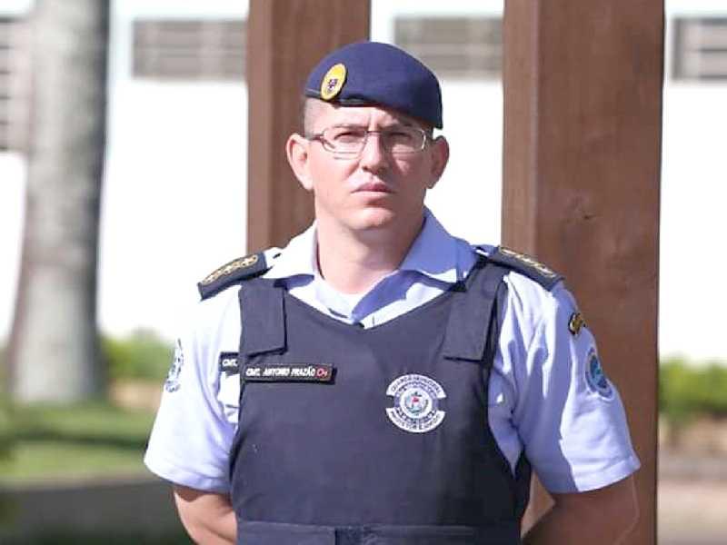 Servidor efetivo desde 2006, hoje Antônio de Paula Frazão ocupa o cargo de comandante da Guarda Municipal