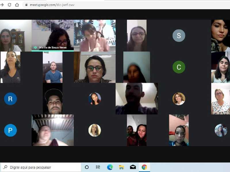 Durante a live alunos conheceram detalhes sobre o mundo literário, os escritores e personagens