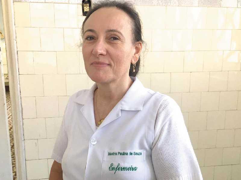 A enfermeira Paulina de Souza, coordenadora do Programa de Imunização no município, será a primeira pessoa a ser vacinada em São Sebastião do Paraíso