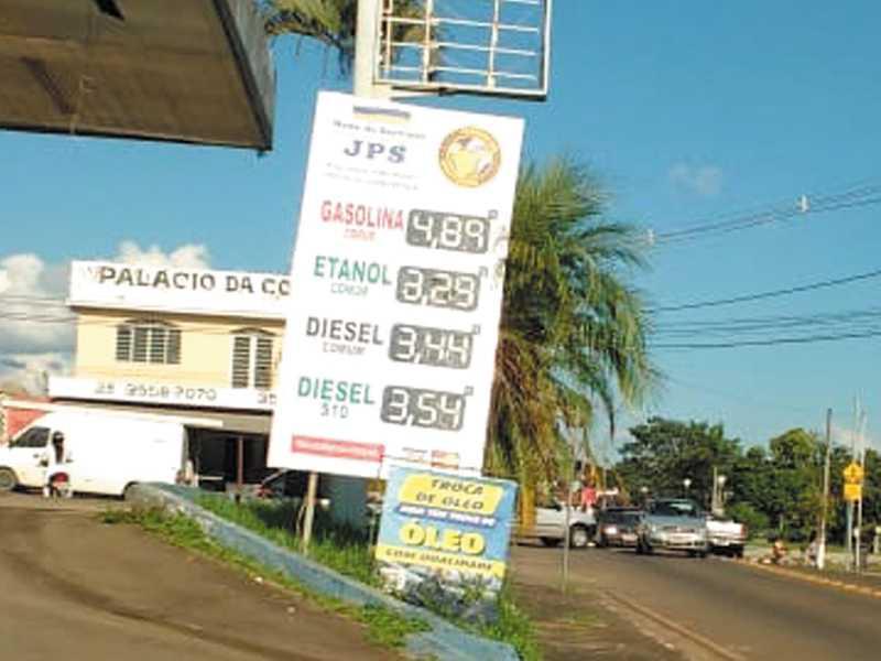 No posto JPS localizado na Av. Brasil ,  no Parque São Judas Tadeu , onde se vende o  litro do Etanol e Diesel mais barato em Paraíso