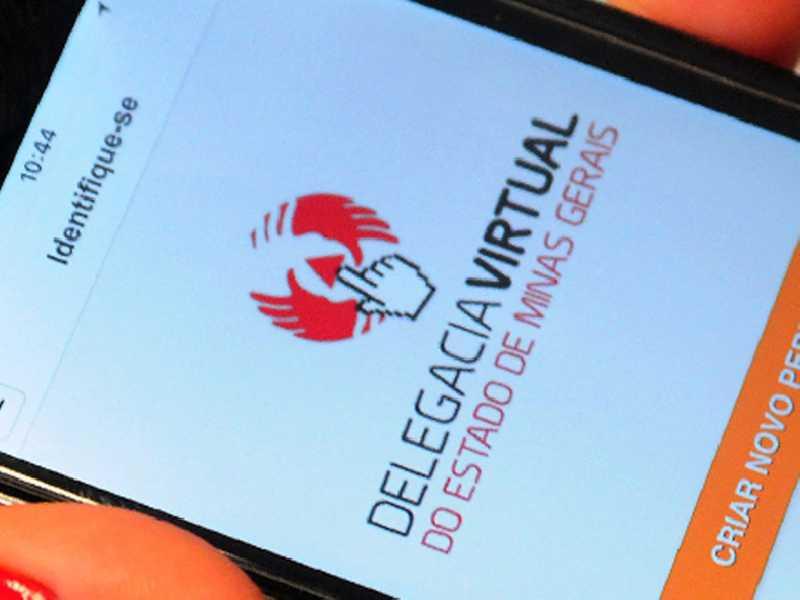 A Delegacia Virtual é um serviço de solicitação de registro de ocorrência, disponível para computadores e celulares