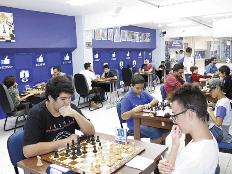 Modernas dependências do Clube de Xadrez de São Sebastião do Paraíso