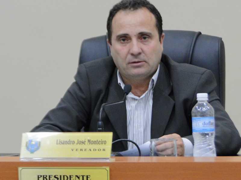 presidente da Câmara Municipal, Lisandro José Monteiro