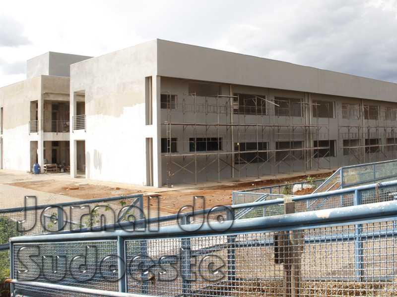 Obras que foram iniciadas em 2019 seguem em ritmo acelerado no Campus UFLA Paraíso