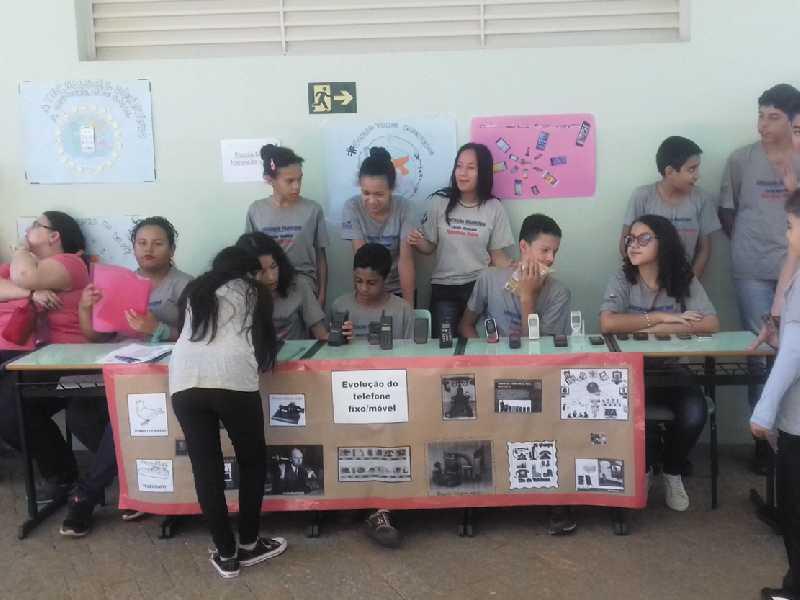 Estudantes de Paraíso fizeram exposição de trabalhos e outras apresentações ligadas ao tema deste ano