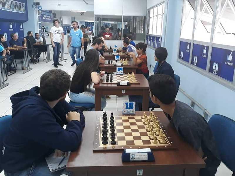 Clube de Xadrez de São Sebastião  do Paraíso recebeu o Circuito  Regional no último domingo