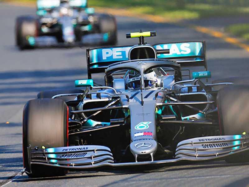 Não está descartada nova dobradinha da Mercedes na Espanha