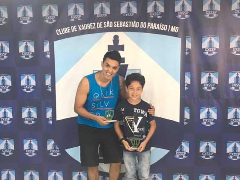 Dwlyan Santos e Andrew Duarte são bicampeões do Torneio de Duplas