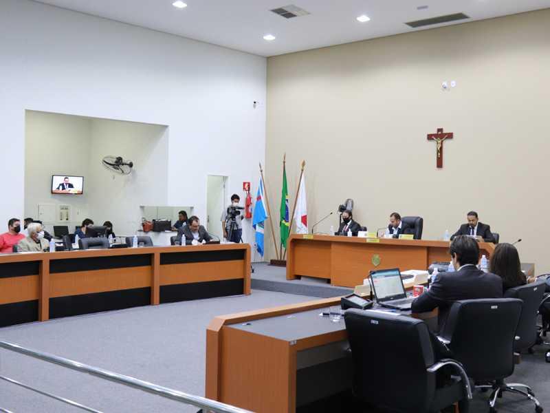 Câmara teve Sessão movimentada com vários pronunciamento e projetos apreciados