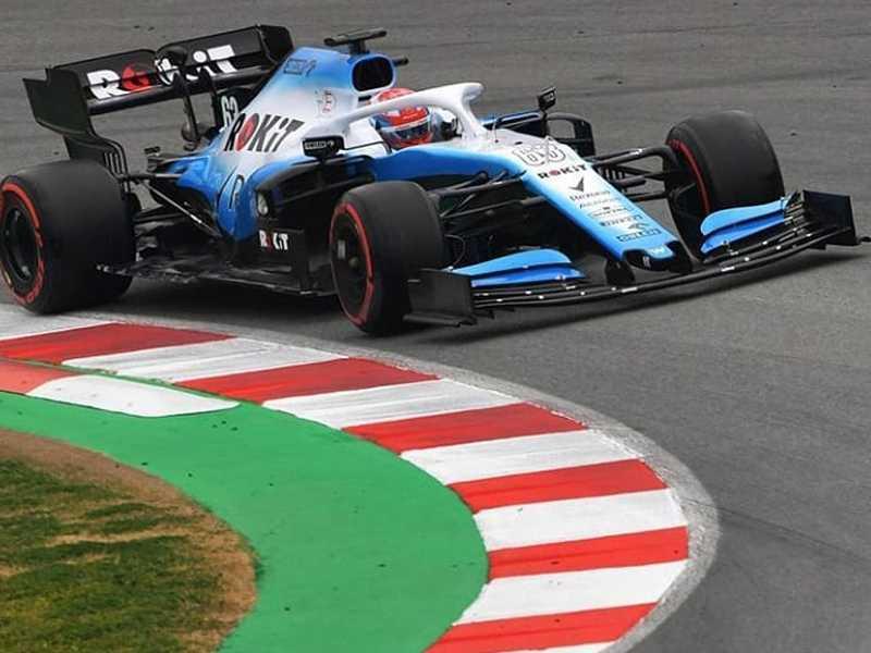 Williams perdeu dois dias e meio de testes por atraso do modelo FW42