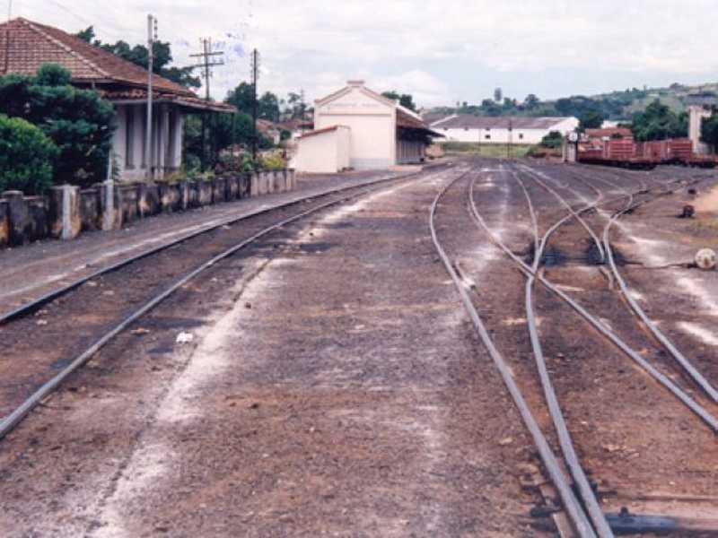 Linhas de trem foram utilizadas em Paraíso até meados dos anos 80