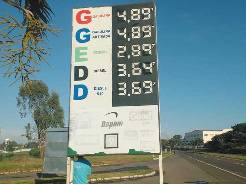 Paraíso na BR 491 próximo ao Belvedere, tem o preços dos combustíveis mais barato em Paraíso