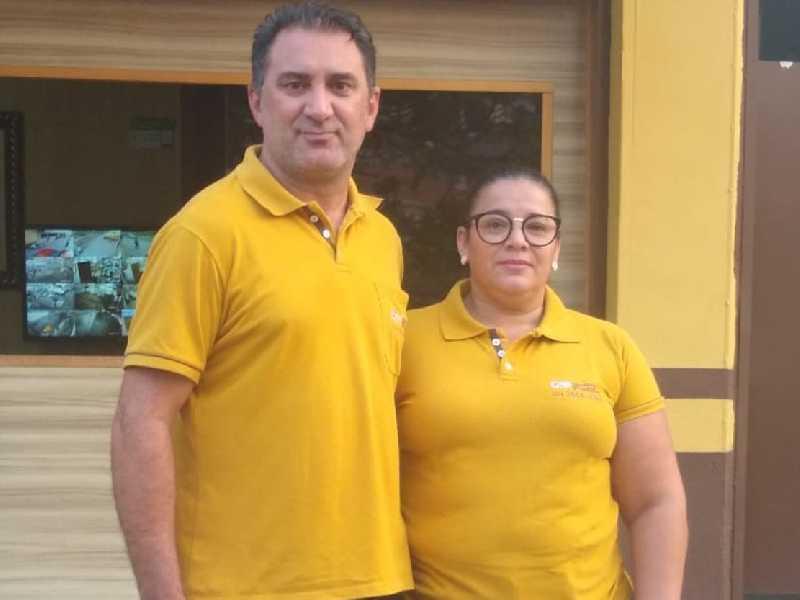 Oziel da Silva Rosa e sua Luzia de Oliveira