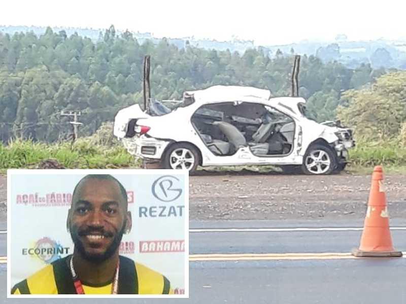 Doka que também jogou pelo Praia Clube perdeu a vida junto com a esposa e um amigo em acidente de trânsito no domingo