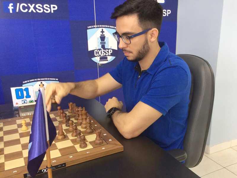 Thales Braghini Leão abrilhanta o  Campeonato Paraisense de Xadrez