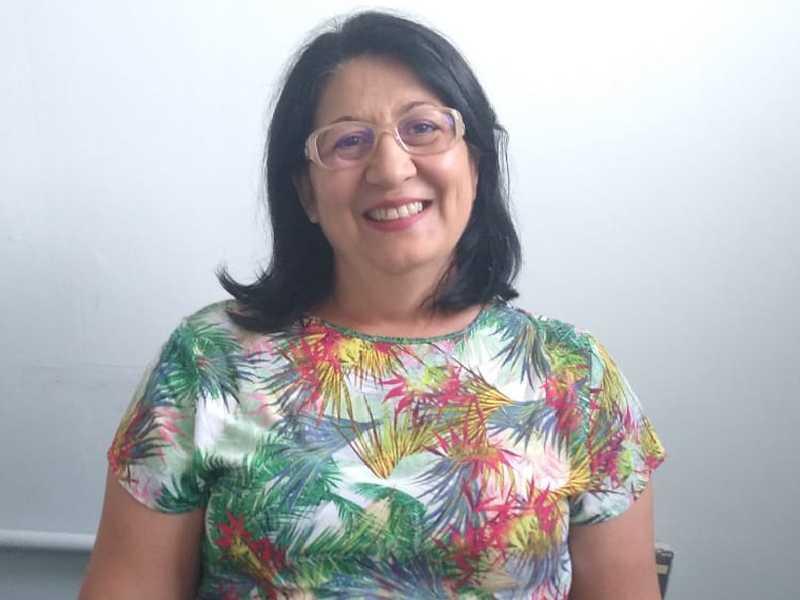 Natália é presidente do projeto Arco-íris que funciona na Santa Casa e no Clube das Acácias