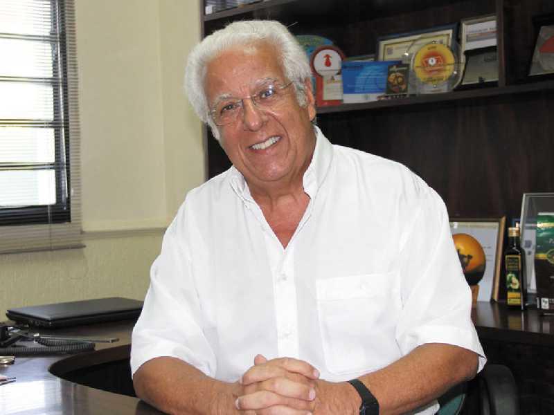Presidente da ACISSP Ailton Rocha de Sillos