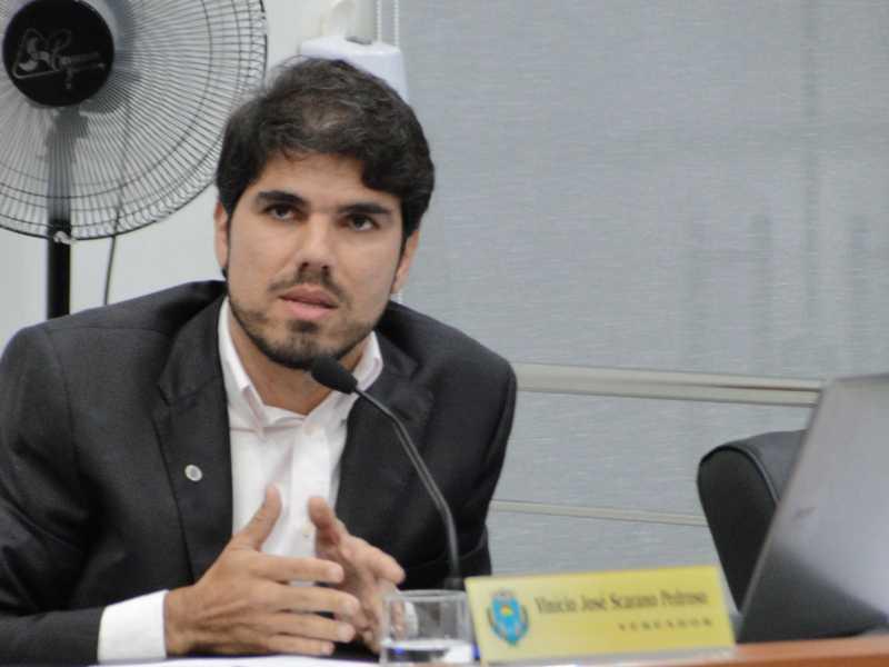 Vinício Scarano é o autor do projeto aprovado pela Câmara