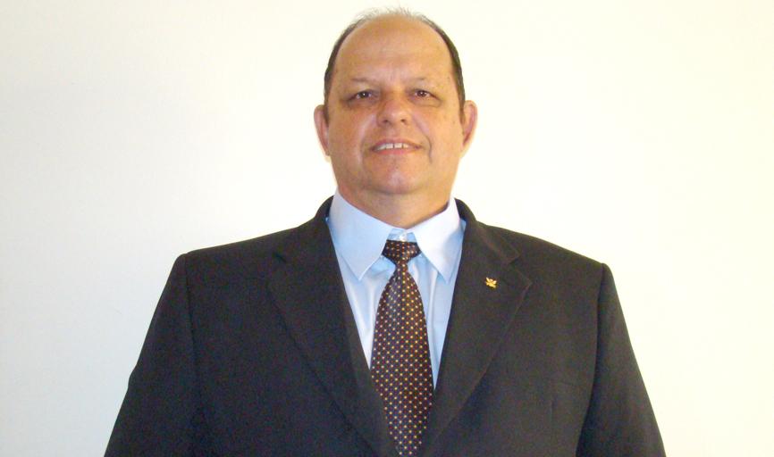 Cláudio Pessoni, recém-eleito ao cargo de venerável na tradicional Loja Maçônica Fraternidade Universal