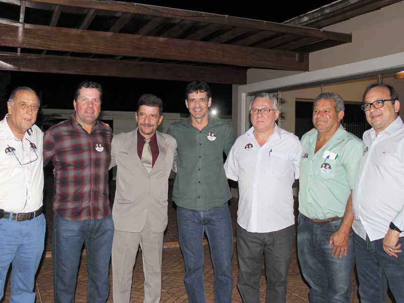 Jaciel, Dárcio Cantieri, Dr. Rômulo, Deputado Marcelo, Ivaner, Edinho e Antonio Carlos