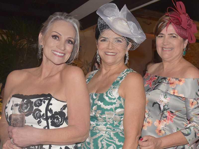 Rosane Machado, Solange Ferrer e Verônica Nascimento