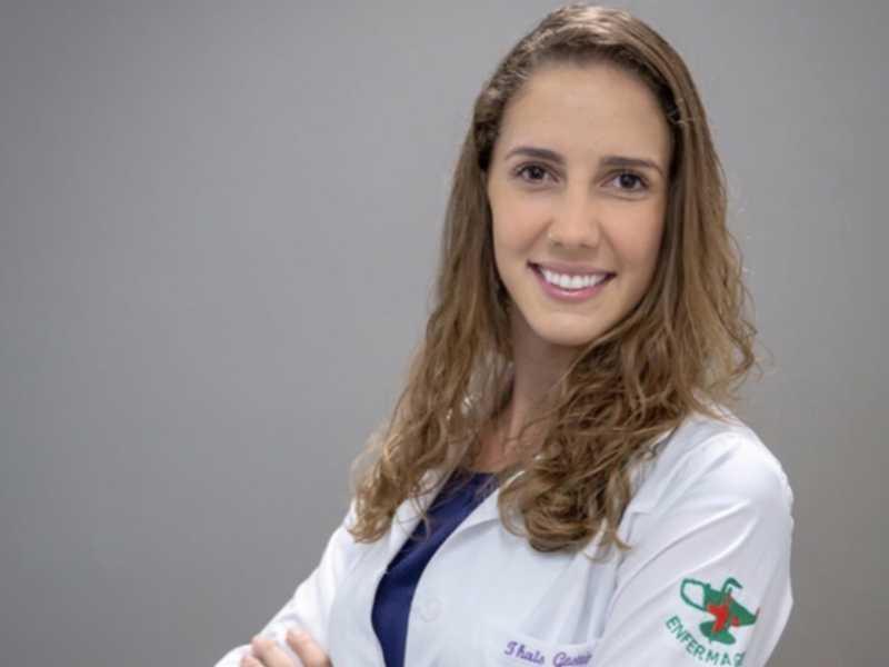 Enfermeira e consultora em amamentação Thais Gesteira