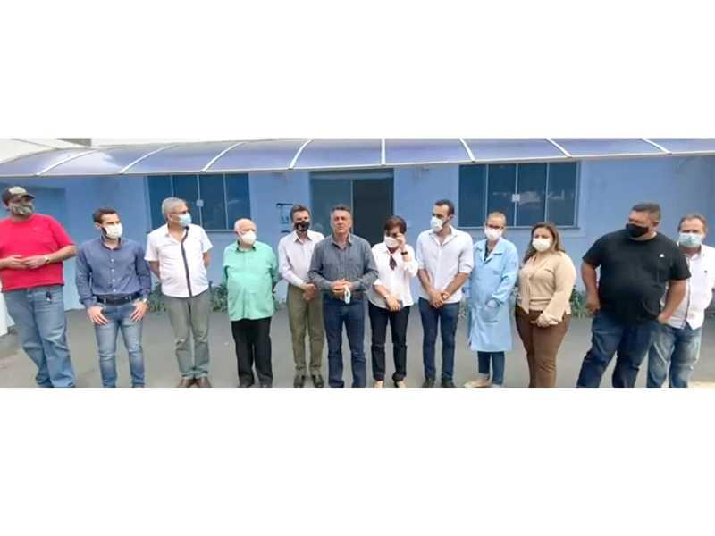 R$ 200 mil para o Hospital Gedor da Silveira