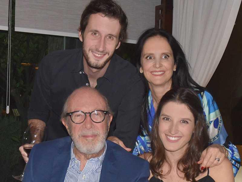 Mônica e José Maciel, Manuela e Bruno Frota