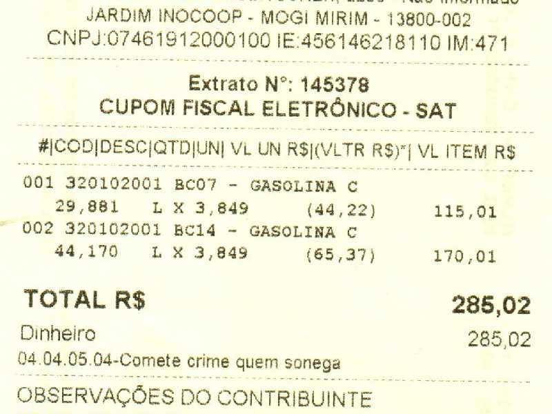 Vejam o valor do preço da Gasolina dos postos na cidade de Mogi Mirim SP