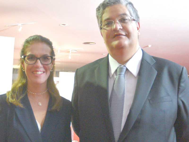 Os advogados, Luciana Lossio e Henrique Neves