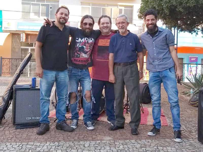 Músicos se reuniram para show de encerramento da Campanha