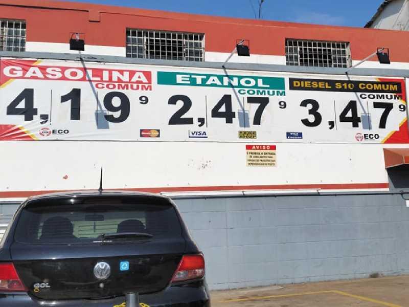 Preços dos Combustíveis na Rede de Postos M.A, na Cidade de Campinas SP