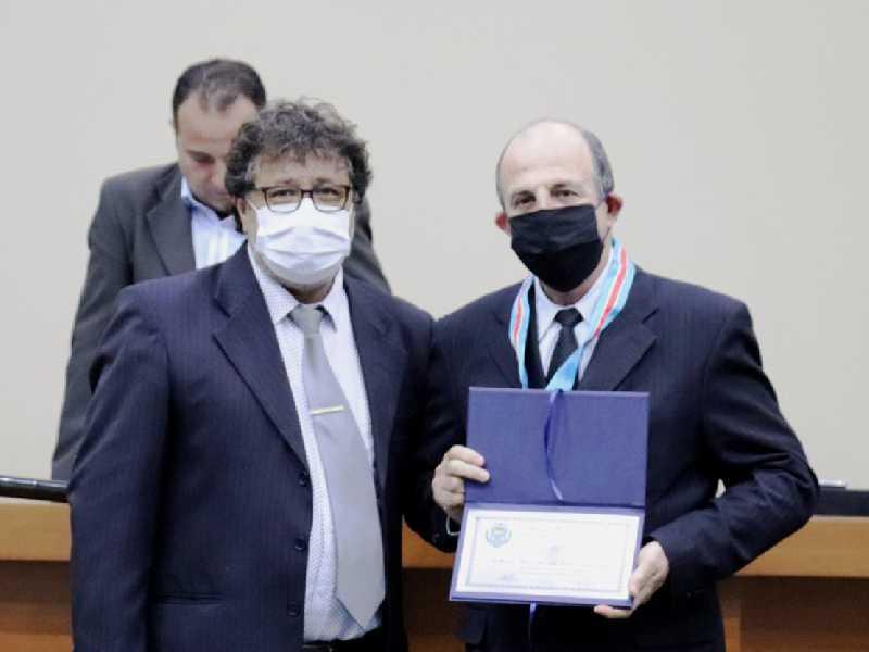 O Pasto Acácio de Oliveira Jordão Junior  e o vereador Jerônimo Aparecido