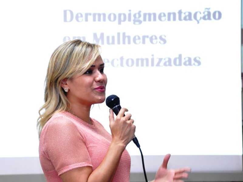 Linergista Lilia Basto Machado falou sobre a dermopigmentação