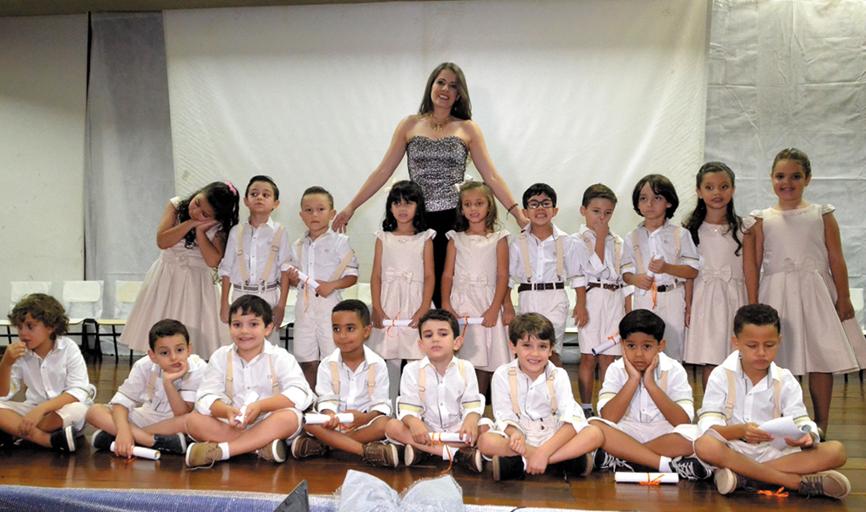 20º Turma de Formandos da Educação Infantil