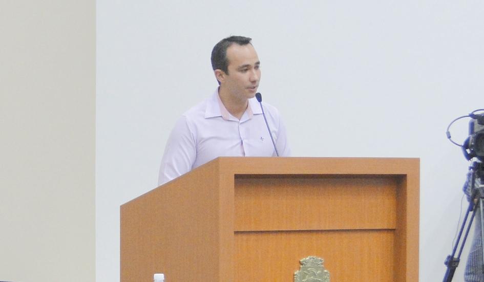 Miguel Félix faz uso da tribuna livre a pedido de vereadores e esclarece algumas dúvidas em relação ao trânsito em Paraíso