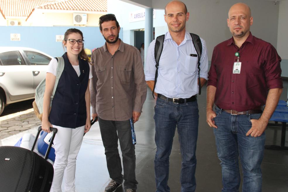 Equipe do Hospital Escola de Itajubá realizou a captação dos rins e fígados