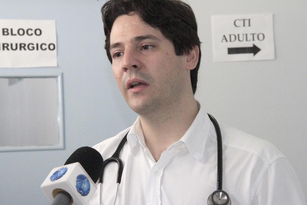 O cardiologista e diretor clínico do Hospital Regional do Coração em Paraíso, Flávio Vilela Diogo, fala sobre o procedimento e importância da doação de órgão